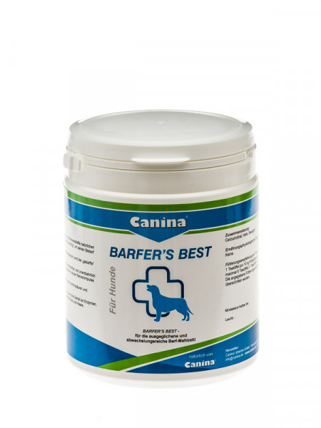 Canina Barfer's Best
